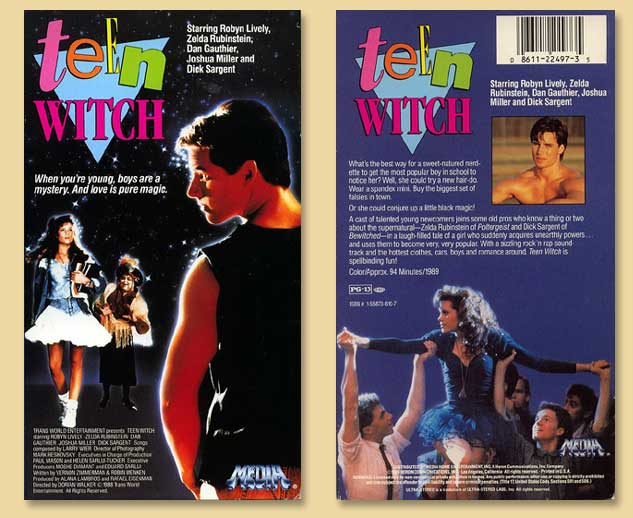Teen Witch a movie by Vernon Zimmerman