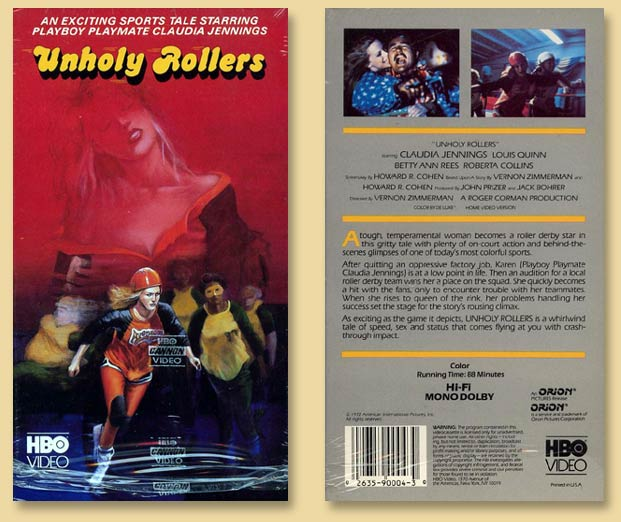 Unholy Rollers a movie by Vernon Zimmerman